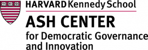 Ash Center for Democratic Governance and Innovation, Harvard Kennedy School.